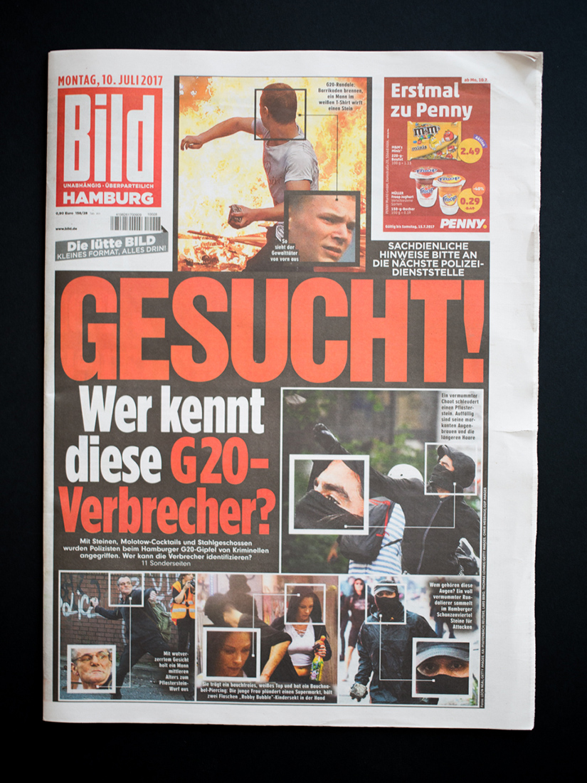 G20 Zeitungsausschnitte