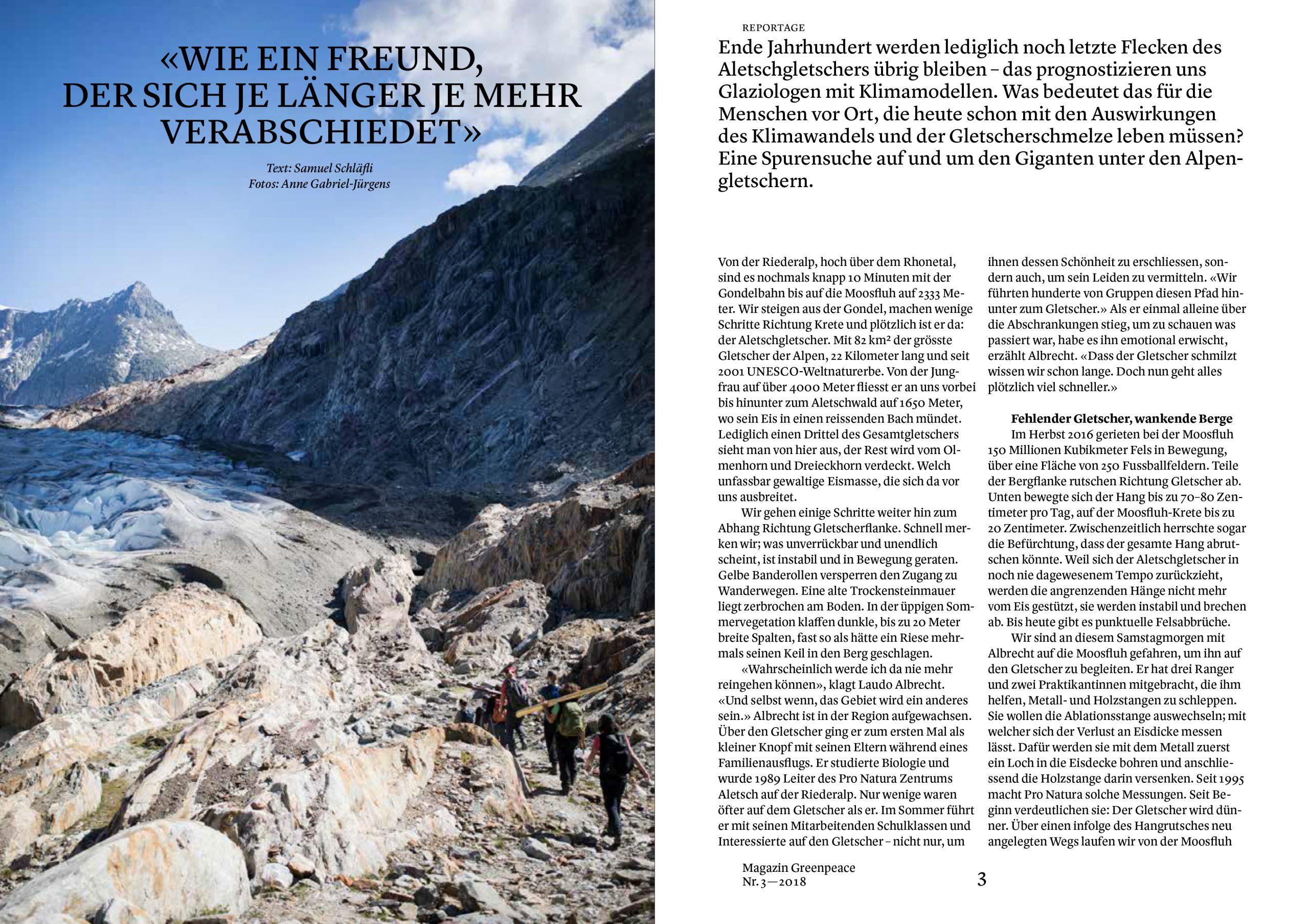 018_04_Greenpeace Magazin_Aletschgletscher